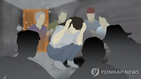 여성 장애인 성폭행 (CG)[연합뉴스TV 제공]