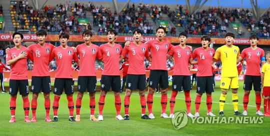 U-20 월드컵에 출전한 대표팀 [연합뉴스 자료사진]