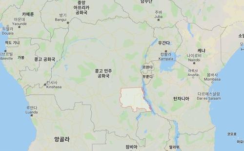 콩고민주공화국 [구글 지도]