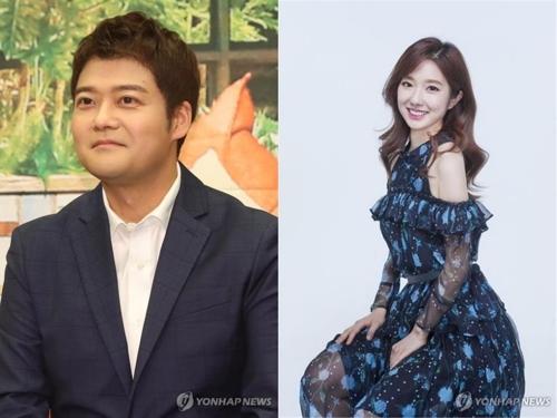 전현무(왼쪽)와 이혜성 아나운서[연합뉴스 자료사진]