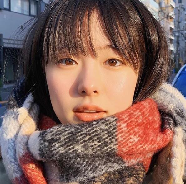 [서울=뉴시스]일본 배우인 가라타 에리카.  (사진출처: 카라타 에리카 인스타그램 캡처). 2020.01.23.