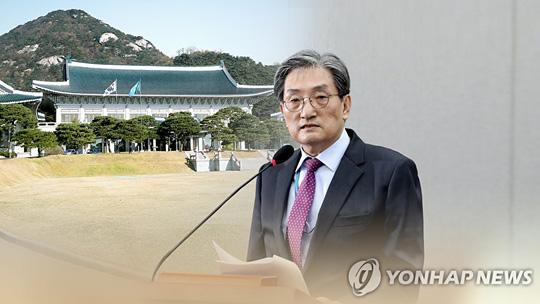 노영민 비서실장·청와대 수석 5명 전원 사의표명 (CG)[연합뉴스TV 제공]